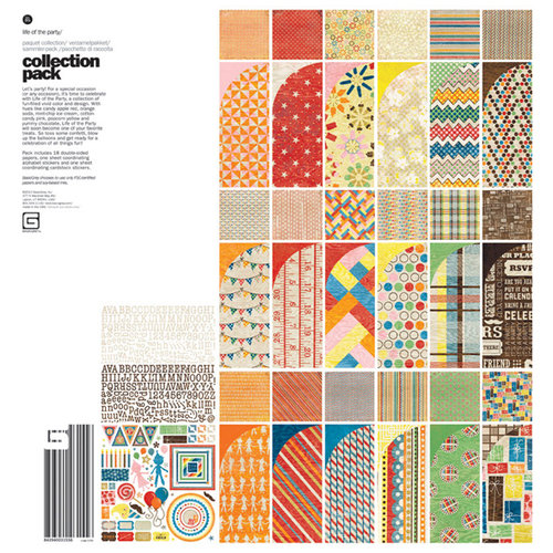 BasicGrey - Life of the Party Collection - 12 x 12 Collection Pack