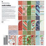 BasicGrey - Nordic Holiday Collection - Christmas - 12 x 12 Collection Pack