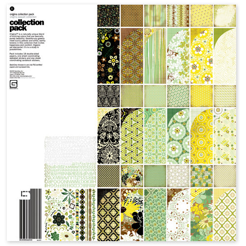 BasicGrey - Origins Collection - 12 x 12 Collection Pack