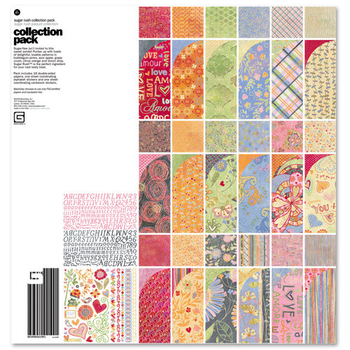 BasicGrey - Sugar Rush Collection - 12 x 12 Collection Pack
