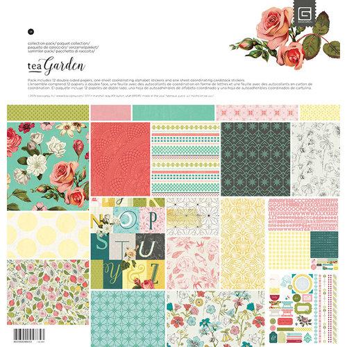 BasicGrey - Tea Garden Collection - 12 x 12 Collection Pack