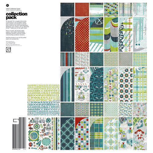 BasicGrey - Oliver Collection - 12 x 12 Collection Pack