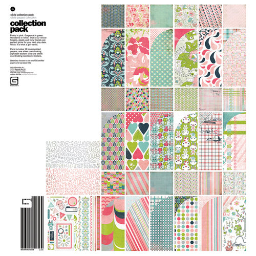 BasicGrey - Olivia Collection - 12 x 12 Collection Pack