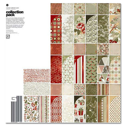 BasicGrey - Wassail Collection - Christmas - 12 x 12 Collection Kit