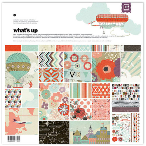BasicGrey - Whats Up Collection - 12 x 12 Collection Pack