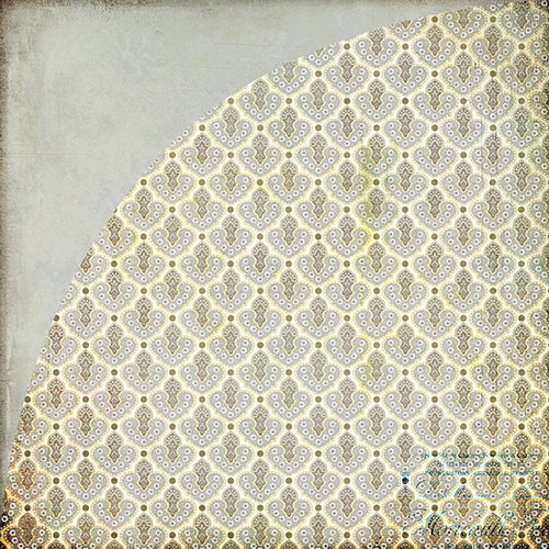 BasicGrey - Cappella Collection - 12 x 12 Double Sided Paper - Forte, CLEARANCE