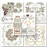 BasicGrey - Cappella Collection - Rub On Book - Olio, CLEARANCE