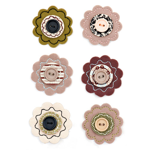 BasicGrey - Cappella Collection - Bloomers - Fabric Flowers