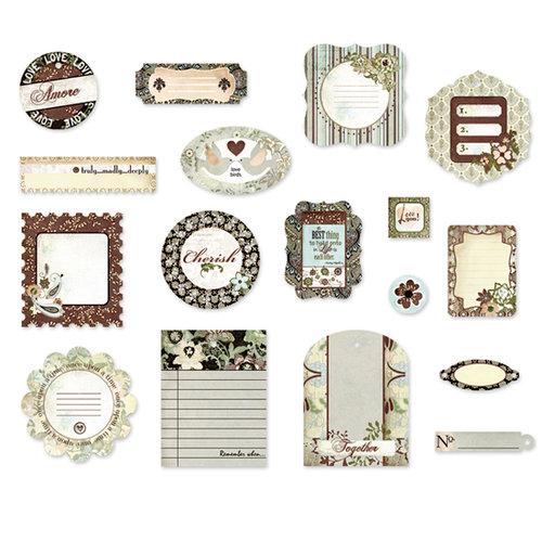 BasicGrey - Cappella Collection - Die Cut Cardstock Pieces