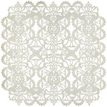 BasicGrey - Cappella Collection - Doilies - 12 x 12 Die Cut Paper - Fancy