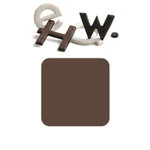 Basic Grey - Chocolate Chip - Self Adhesive Chipboard Alphabets - Piper - Milk Chocolate