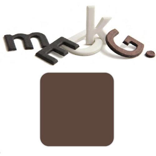 Basic Grey - Chocolate Chip - Self Adhesive Chipboard Alphabets - Beckham - Milk Chocolate