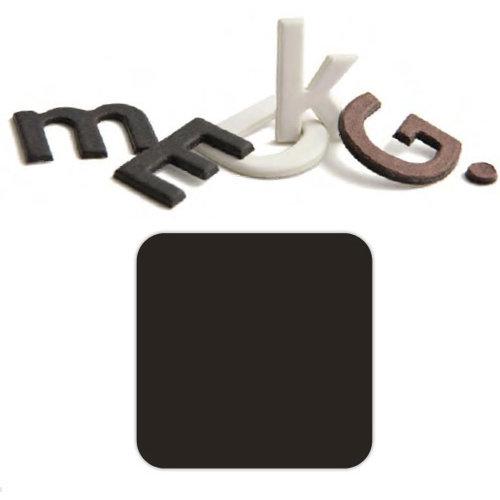Basic Grey - Chocolate Chip - Self Adhesive Chipboard Alphabets - Beckham - Dark Chocolate