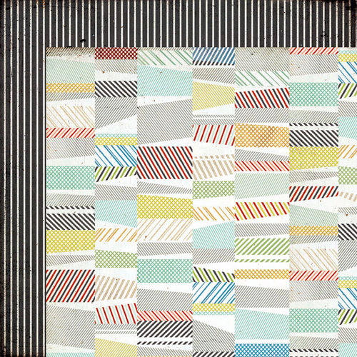 BasicGrey - Clippings Collection - 12 x 12 Double Sided Paper - Herald