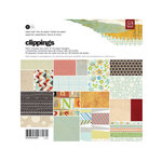 BasicGrey - Clippings Collection - 6 x 6 Paper Pad