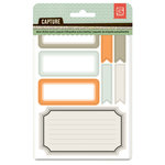 BasicGrey - Capture Collection - Cardstock Stickers - Labels