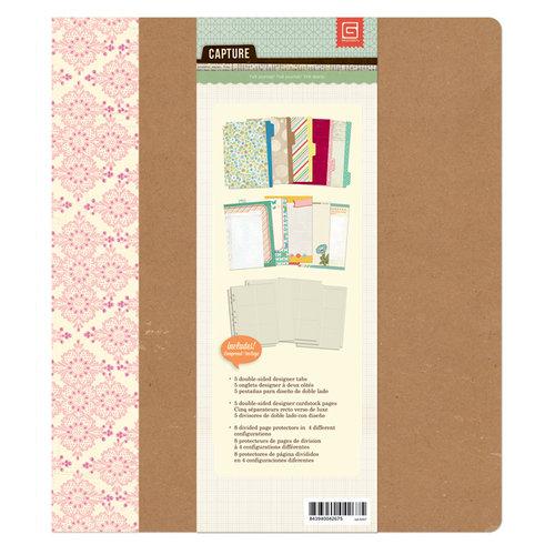 BasicGrey - Capture Collection - 7 x 9 Journaling Binder - Noteworthy