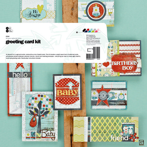BasicGrey - Oliver Collection - Greeting Card Kit