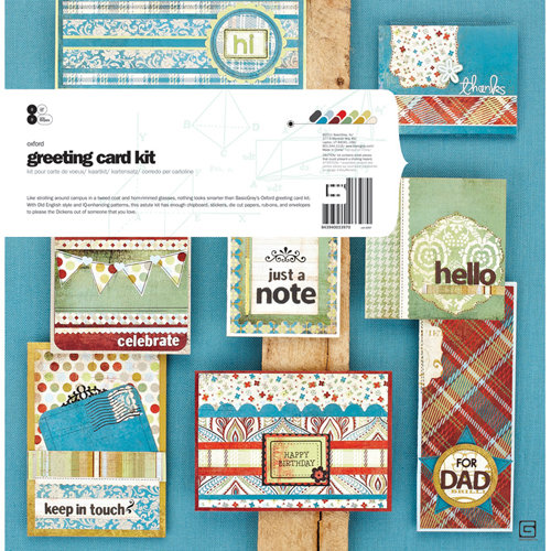 BasicGrey - Oxford Collection - Card Kit