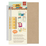BasicGrey - Carte Postale Collection - 5 x 7 Spiral Journal