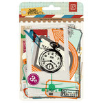 BasicGrey - Carte Postale Collection - Die Cut Cardstock and Transparency Pieces