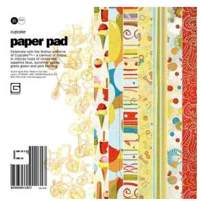 BasicGrey - Cupcake Collection - 6x6 Paper Pad