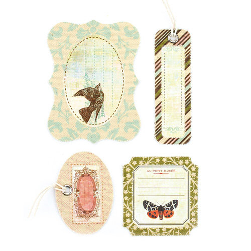BasicGrey - Curio Collection - Canvas Tags