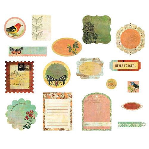 BasicGrey - Curio Collection - Die Cut Cardstock Pieces