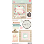 BasicGrey - Dear Heart Collection - Element Stickers