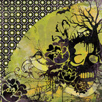 BasicGrey - Eerie Collection - Halloween - 12 x 12 Double Sided Paper - Poison, CLEARANCE