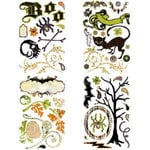 BasicGrey - Eerie Collection - Halloween - Adhesive Chipboard - Shapes