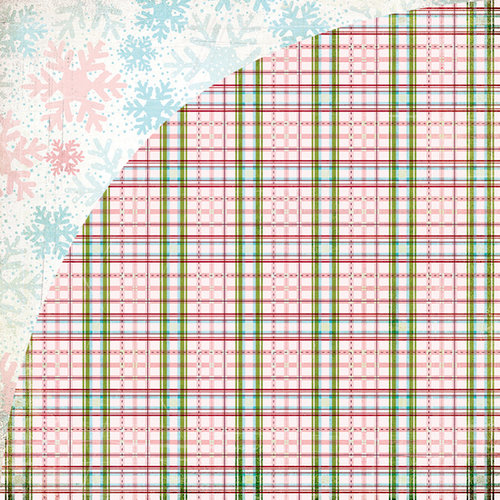 BasicGrey - Eskimo Kisses Collection - Christmas - 12 x 12 Double Sided Paper - Village
