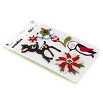 BasicGrey - Eskimo Kisses Collection - Christmas - Woolies - 3 Dimensional Felt Stickers