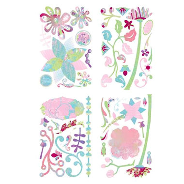 BasicGrey - Euphoria Collection - Chipboard Stickers - Shapes