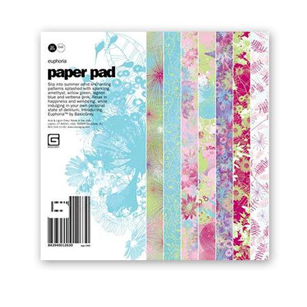 BasicGrey - Euphoria Collection - 6x6 Paper Pad