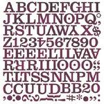 BasicGrey - Eva Collection - Mini Monogram Stickers - Middleset