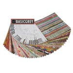 BasicGrey - 48 Piece Assorted Paper Pack