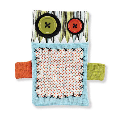 BasicGrey - Notions Collection - Monsters - Gift Card Holder - Lurp