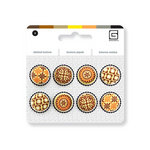 BasicGrey - Notions Collection - Stitched Buttons - Buttercup