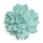 BasicGrey - Notions Collection - Fabric Flowers - Delicate Blossom - Seaspray