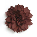 BasicGrey - Notions Collection - Fabric Flowers - Delicate Blossom - Truffle