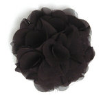 BasicGrey - Notions Collection - Fabric Flowers - Bounce Blossom - Noir