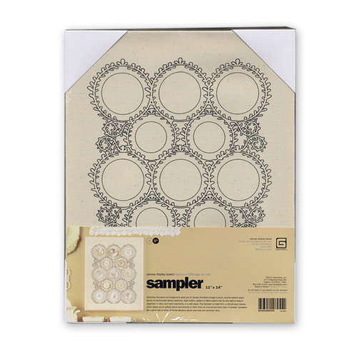 BasicGrey - Notions Collection - Samplers - Display Board - Laurel Medium