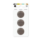 BasicGrey - Notions Collection - Vintage Heirloom Buttons - Knight