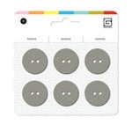 BasicGrey - Notions Collection - Yummy Buttons - Large Resin Buttons - Mushroom