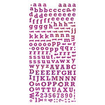BasicGrey - Green at Heart Collection - Micro Monogram Stickers, CLEARANCE