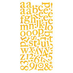 BasicGrey - Green at Heart Collection - Mini Monogram Stickers, CLEARANCE