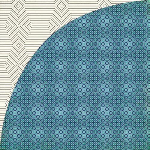 BasicGrey - Grand Bazaar Collection - 12 x 12 Double Sided Paper - Mediterranean