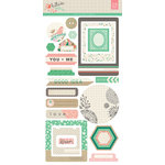 BasicGrey - Hillside Collection - Cardstock Stickers - Journal