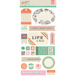 BasicGrey - Hillside Collection - Cardstock Stickers - Elements
